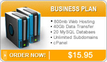 PJR Sales and Service Business Web Hosting Plan